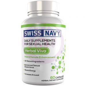 Swiss Navy Herbal Viva Him & Her Enchancement  60 Ct