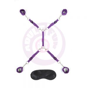 7pc Bed Spreader - Purple
