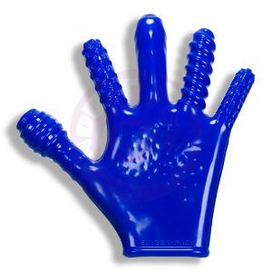 Finger- Fuck Reversible Jo & Penetration Toy -  Police Blue