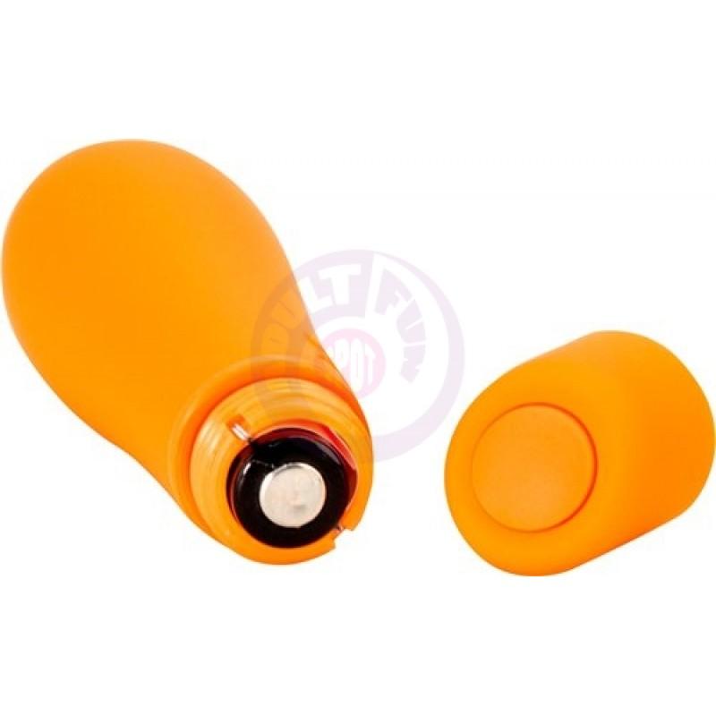 Soft Rain Power Bullet 3 Inch Breeze Coated 7  Function - Orange