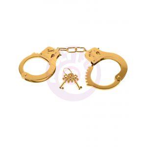 Fetish Fantasy Gold Metal Cuffs - Gold