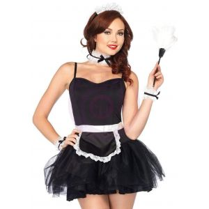 Lace French Maid Costume Kit