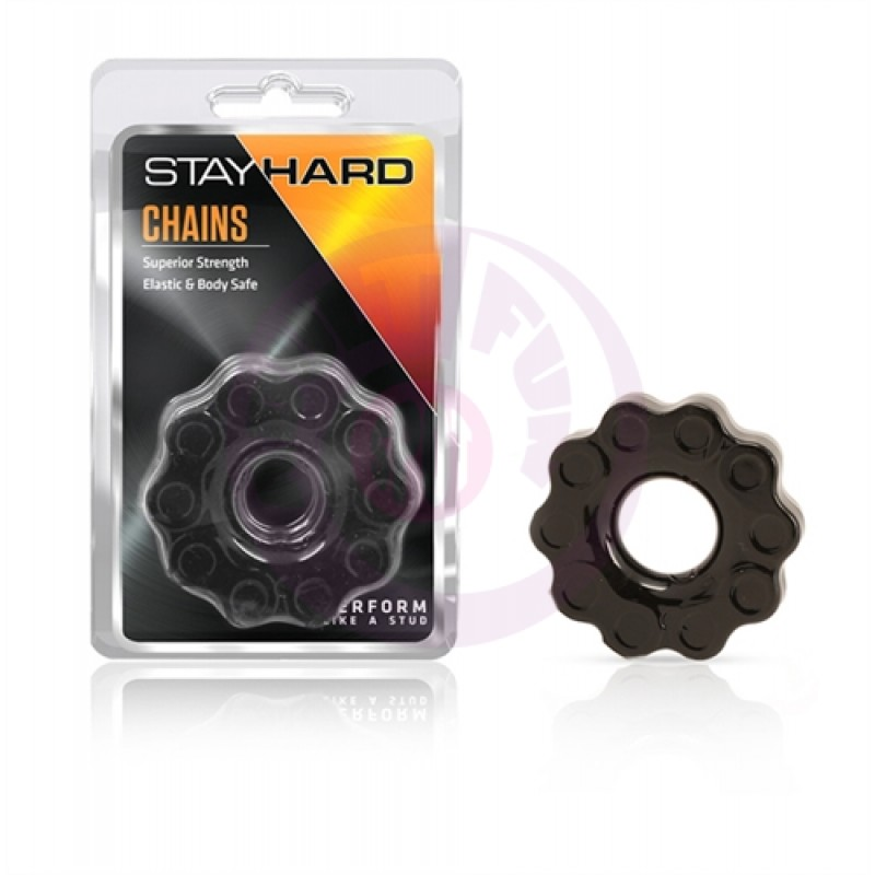 Stay Hard Chains - Black