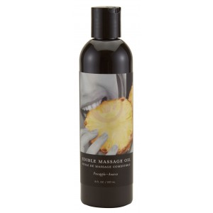 Edible Massage Oil 8 Oz. - Pineapple