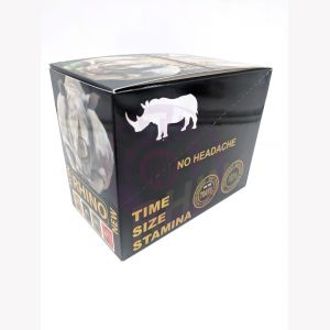 Rhino Zen Platinum Male Enhancement 30 Ct Display