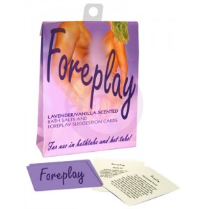 Foreplay Bath Set - Lavender and Vanilla
