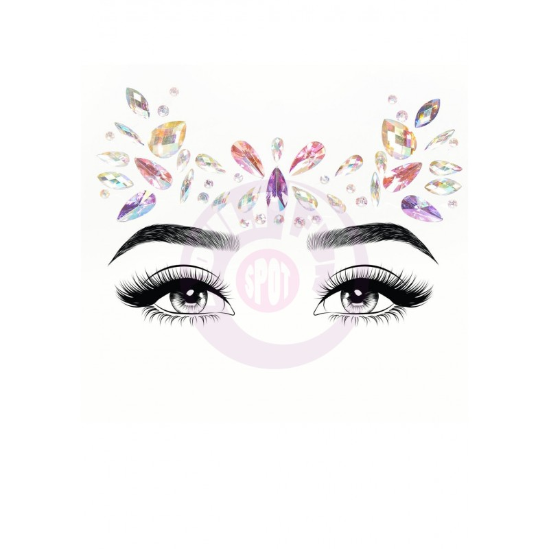 Veda Adhesive Face Jewels Sticker
