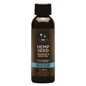 Hemp Seed Massage and Body Oil Sunsational