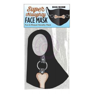 Super Naughty Dog Bone Ball Gag Face Mask