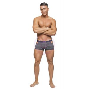 Heather Haze - Cutout Short -  Extra Large - Grey