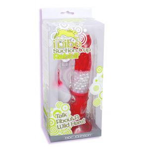 Ivibe Suction Cup Rabbit - Strawberry