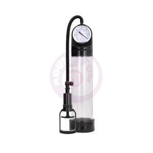 Comfort Pump With Advanced Psi Gauge - Transparent