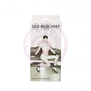 Sex and Mischief Our First Bondage Kit - Black