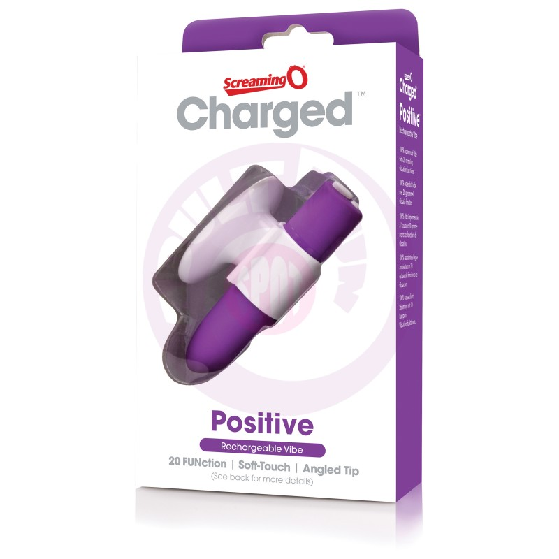 Charged Positive Rechargeable Vibe - Grape