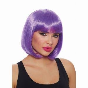 Dreamgirl Mid Length Ultra Violet Bob Wig