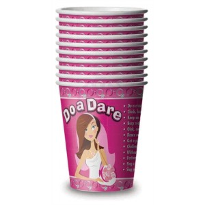 Bride-to-Be Dare Cups - 10 Count