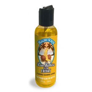 Love Lickers Massage Oil - Malibu Screw - 1.76 Fl. Oz.