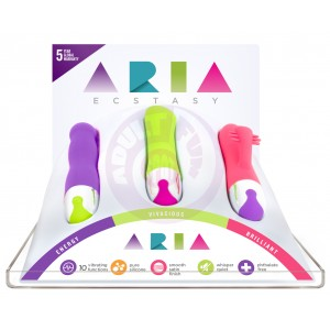Aria Large Vibes Tester Display Kit - Free With  Purchase