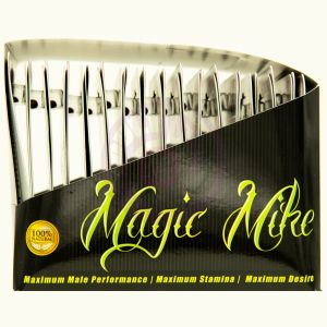 Magic Mike XXL Natural Male Enhancement - 30 Count Display - 1 Capsule Blister Cards