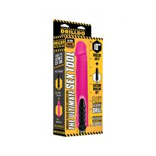 "10"" Drilldo Jelly & Drilldo Bit Set - Pink"