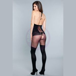Good at Being Bad Bodystocking - Black - One Size