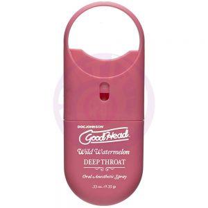 Goodhead - Deep Throat Spray to-Go - Wild  Watermelon - .33 Oz.