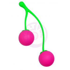Frisky Charming Cherries Silicone Kegel Exercisers