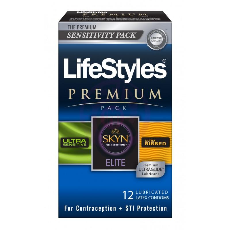 Lifestyles Premium Pack - 12 Pack