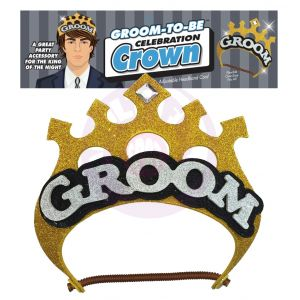 Groom-to-Be Celebration Crown