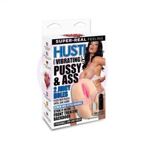 Vibrating Pussy and Ass Juicy - Holes