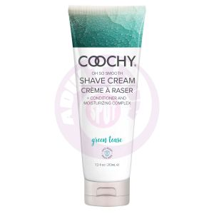 Coochy Shave Cream - Green Tease - 7.2 Oz