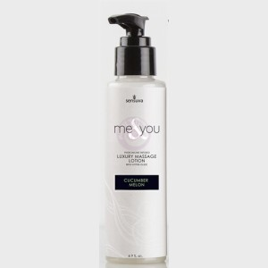 Me and You Massage Lotion - Cucumber Melon - 4.2 Fl. Oz.