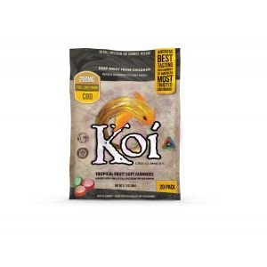 Koi CBD Tropical Fruit Gummies - 200mg - 20 Pc. - Each