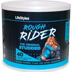 Lifestyles Rough Rider - 40 Count Jar