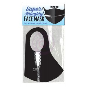 Super Naughty Zipper Face Mask