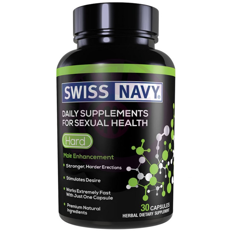 Swiss Navy Hard Male Enchancement - 30 Ct