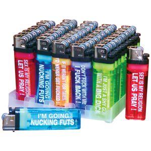 Humorous Lighters - Each - Assorted - Bulk