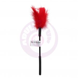 Sex and Mischief Feather Tickler - Red