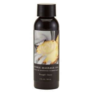 Edible Massage Oil 2 Oz. - Pineapple