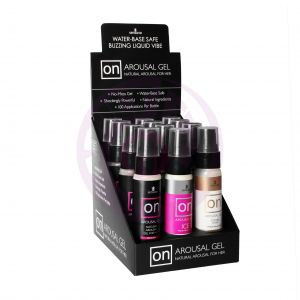 On Arousal Gels - 12 Piece Display With Tester
