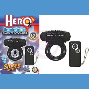 Hero Remote Control Wireless Xcockring-Black