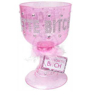 Bachelorette Bitch Pimp Cup - Pink