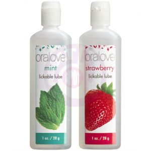 Oral Love Dynamic Duo - Strawberry and Mint