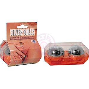Large  Balls Silver