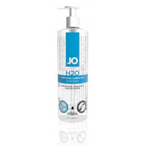 Jo H2O Water-Based Lubricant - 16 Fl. Oz. / 480 ml