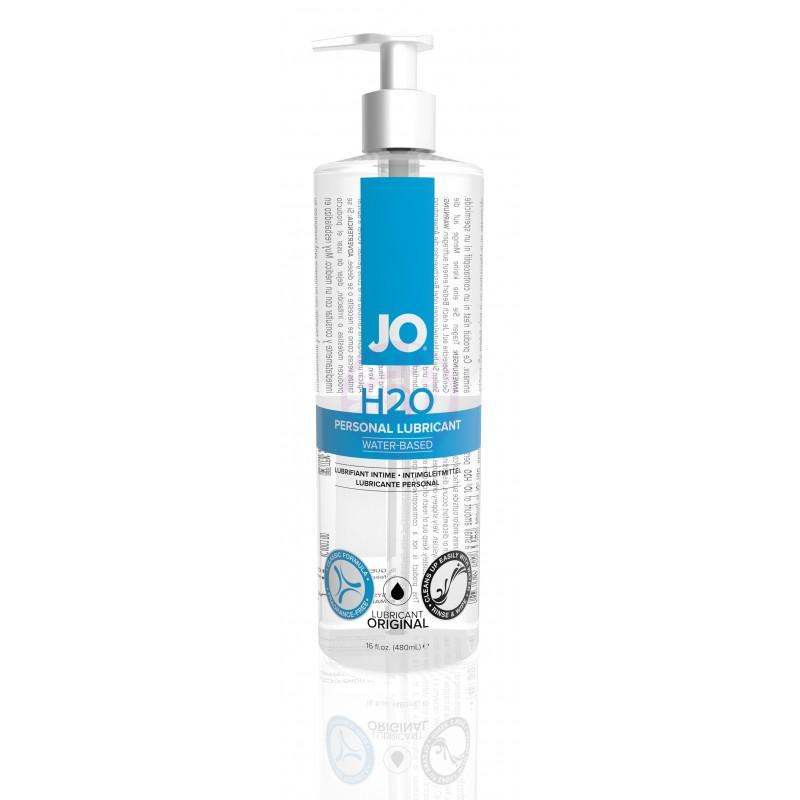 Jo H2O Water-Based Lubricant - 16 Fl. Oz. / 480 ml