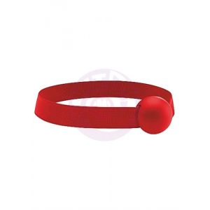Elastic Ball Gag - Red