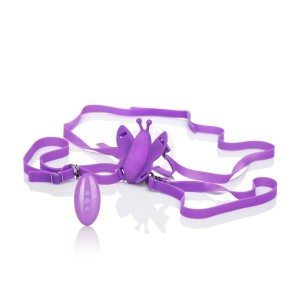 Venus Butterfly Silicone Remote Wireless Micro  Butterfly