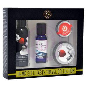 Hemp Seed Tasty Travel Collection - Strawberry