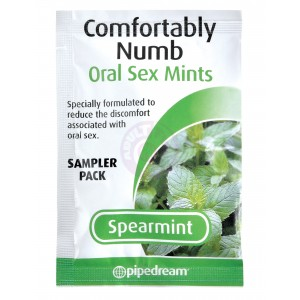 Comfortably Numb Oral Sex Mints - Spearmint